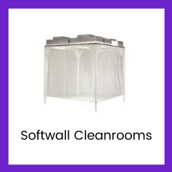 softwall cleanroom button